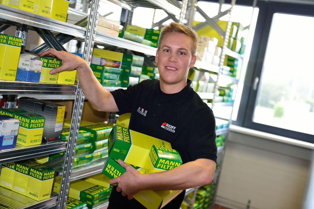 Sven Preissler, Teiledienst und Beschaffung